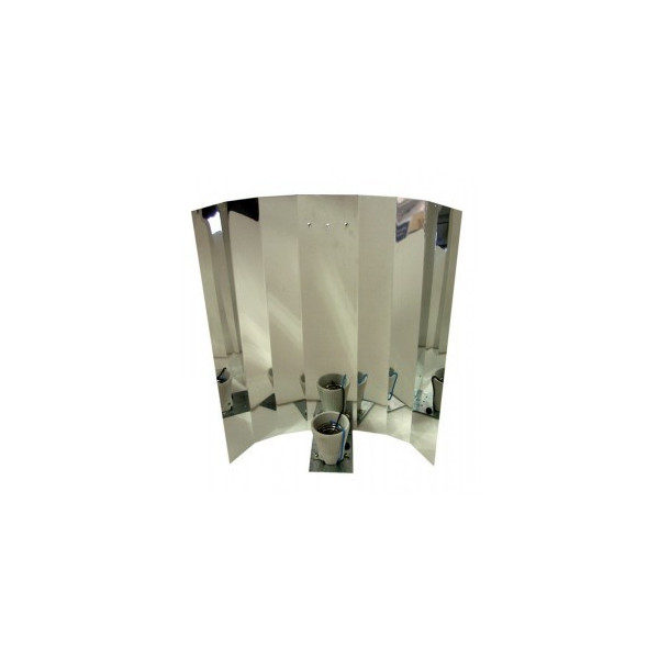 Reflector sección plana liso