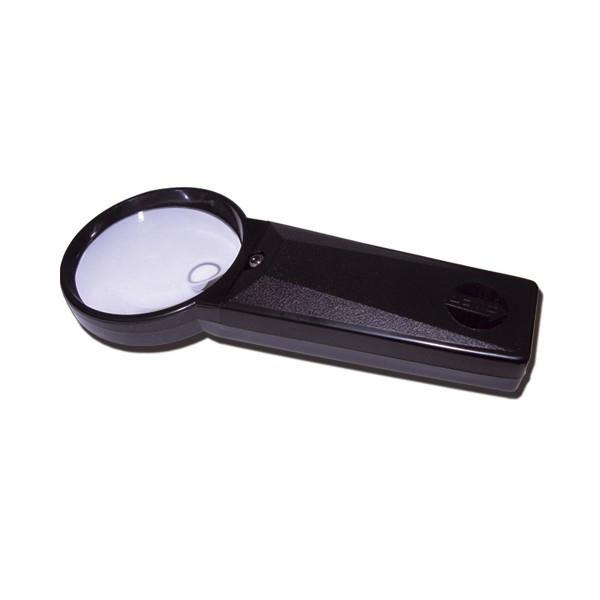 lupa bifocal con luz